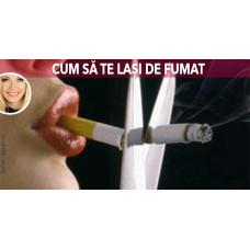 Cea mai eficienta tinctura pentru cei care se lasa de fumat