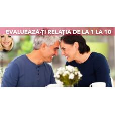 Evaluează cât de sănătoasă este relația ta pe o scară de la 1 la 10