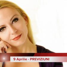 9 Aprilie: Previziunea zilei