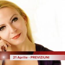 21 Aprilie: Previziunea zilei