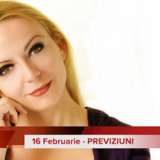 16 Februarie: Previziunea zilei