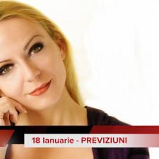 18 Ianuarie: Previziunea zilei