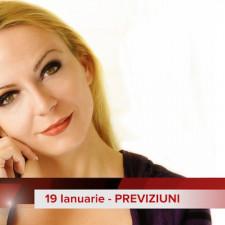 19 Ianuarie: Previziunea zilei