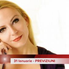 31 Ianuarie: Previziunea zilei