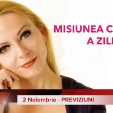 2 Noiembrie: Previziunea zilei