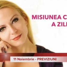 11 Noiembrie: Previziunea zilei