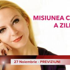 27 Noiembrie: Previziunea zilei