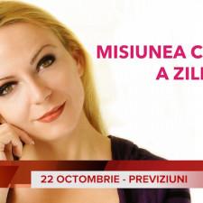 22 Octombrie: Previziunea zilei