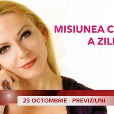 23 Octombrie: Previziunea zilei