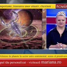 Scorpion - horoscopul lunii Martie