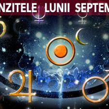Tranzitele astrologice ale lunii Septembrie 2017