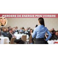 Vorbirea - principala sursă de pierdere a energiei