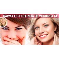 Karma este definită de vorbele noastre