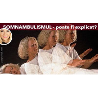 Cum poate fi explicat somnambulismul?