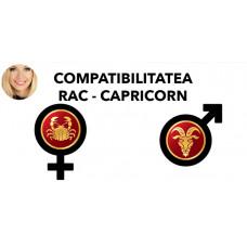 Compatibilitatea Rac - Capricorn in dragoste si casatorie