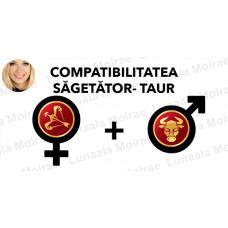 Compatibilitatea Sagetator  - Taur  în dragoste si casatorie