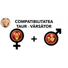 Compatibilitatea Taur - Varsator în dragoste si casatorie