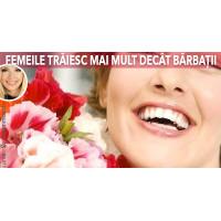 De ce femeile traiesc mai mult decat barbatii