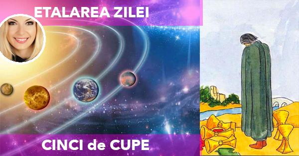 TAROT: CINCI de CUPE